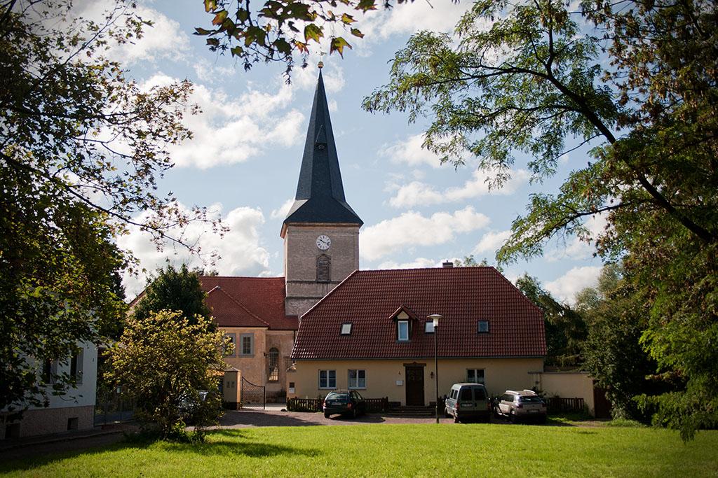 Die Passendorfer Kirche gehört zur Gemeinde Halle-Neustadt.